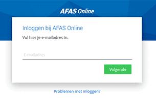 AfasOnline-inlog