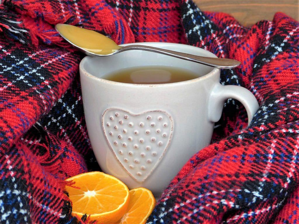 Canva - Warm Tea for Colds