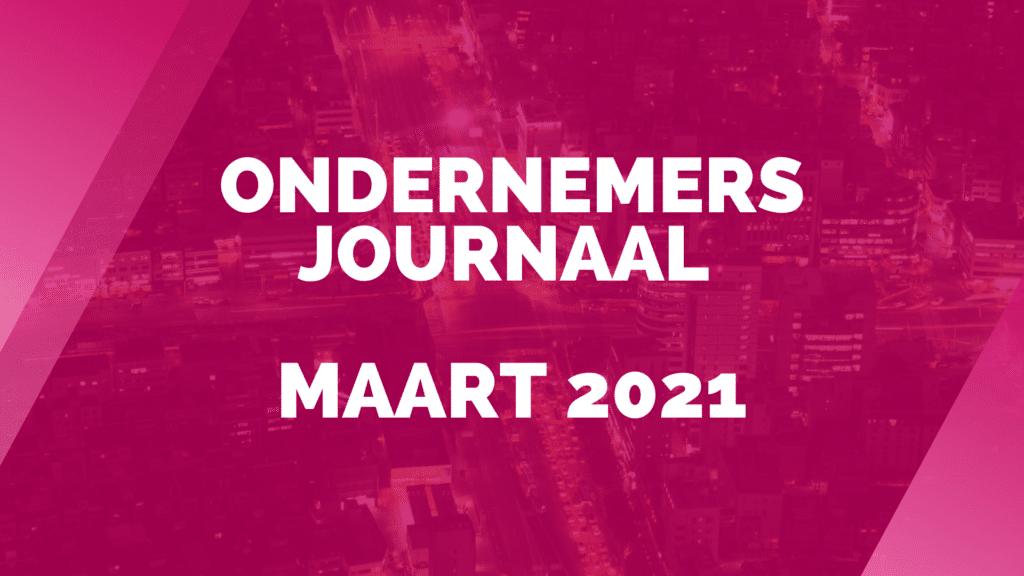 Ondernemersjournaal maart 2021
